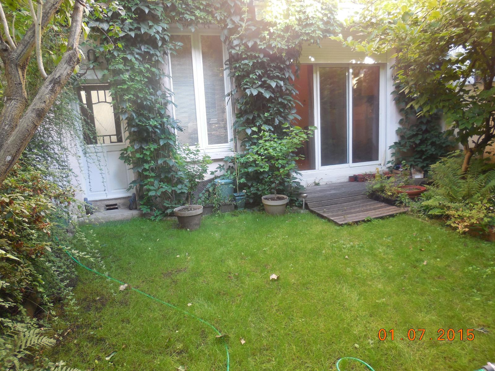 Vente centre ville maison de style 39 art d co 39 de 1922 for Art deco jardin